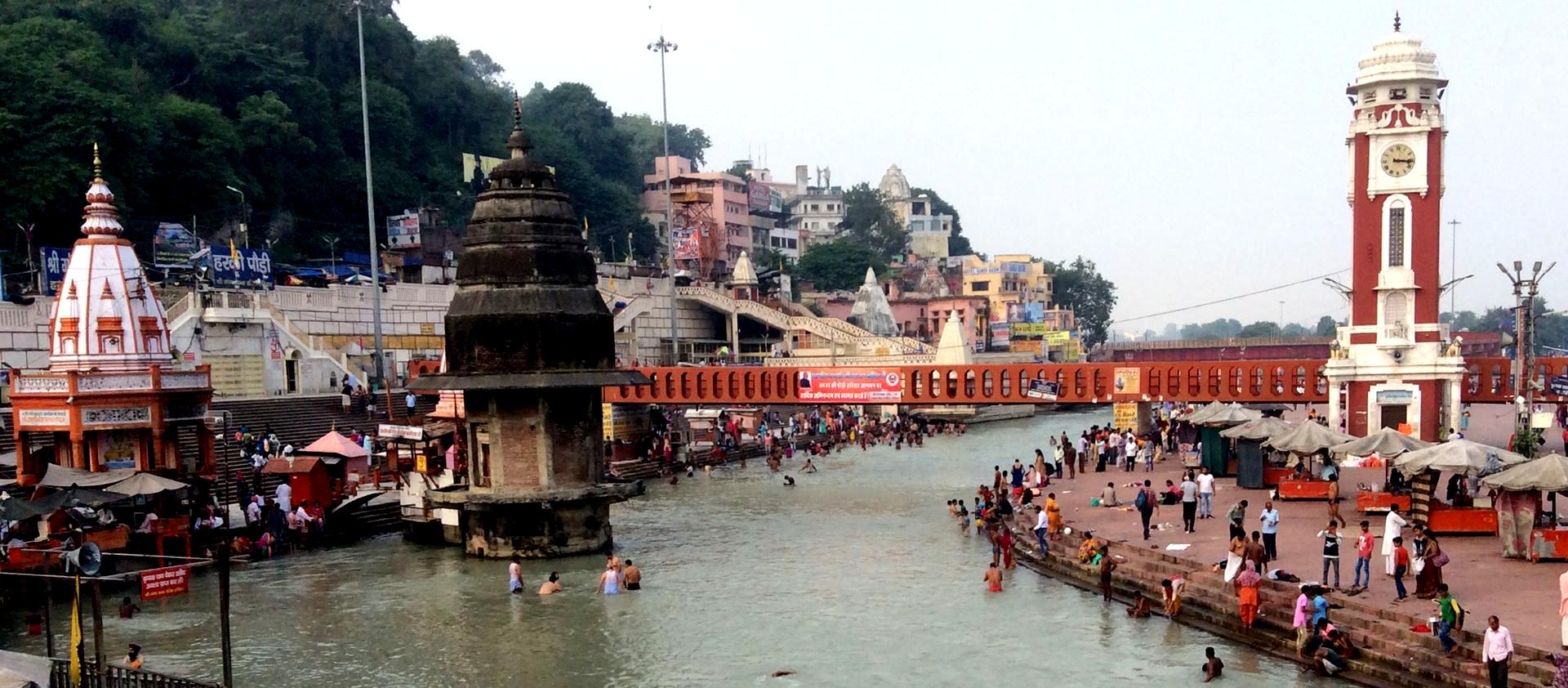 Pilgerwanderung zur Quelle des Ganges mit Mt. Shivalingam
